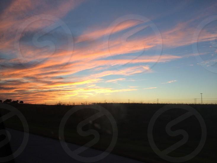 Driving through photo