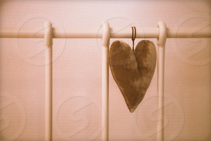 Velvet heart photo