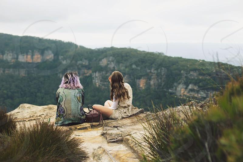 Blue mountains NSW Australia. photo