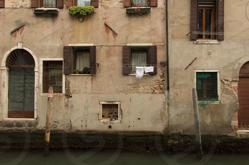 Laundry Day Venice. photo