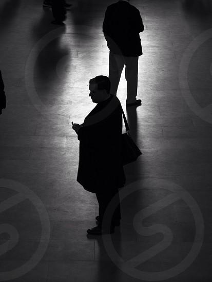 man in black business attire photo