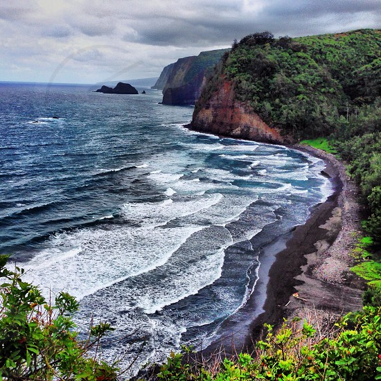 Pololu lookout in Kona.  photo