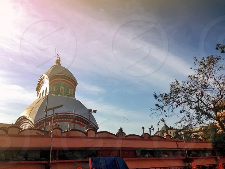 Kalighat Kali a Hindu temple in Kolkata or Calcutta West Bengal India photo