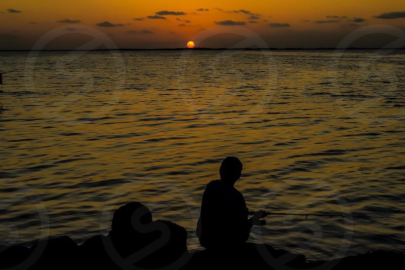 Home stay cation key largo sunset fishing backyard Florida Keys  photo