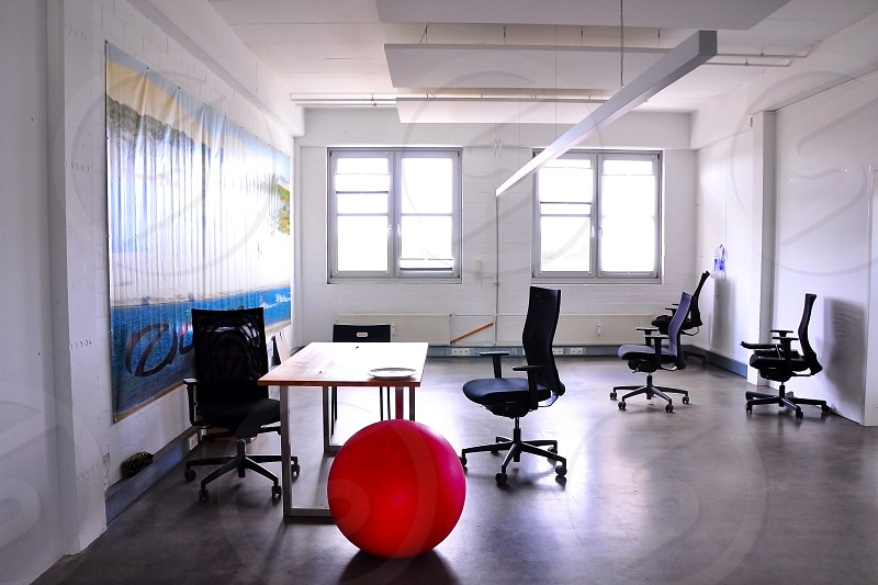 empty office at Jimdo startup Germany photo