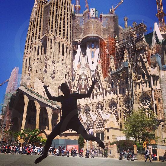 Sagrada la Familia Barcelona Spain photo
