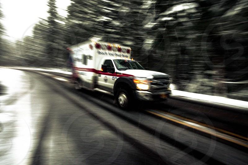 Rescue on Mt Hood Oregon photo