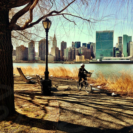 A ride by the East River NYC. photo