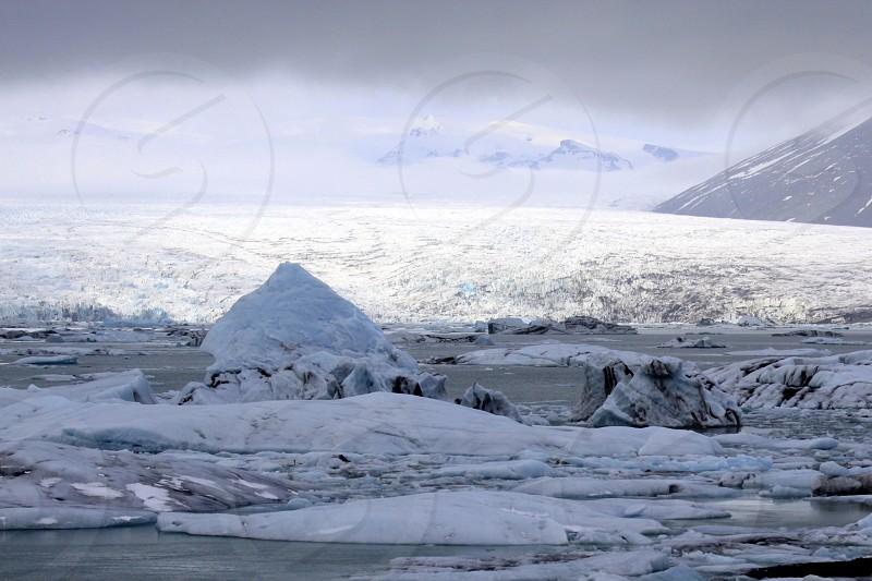 Shimmering Glacier photo