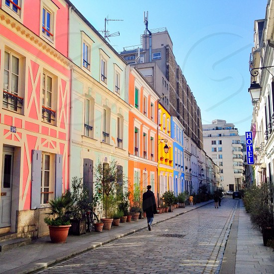 Colors of Paris photo