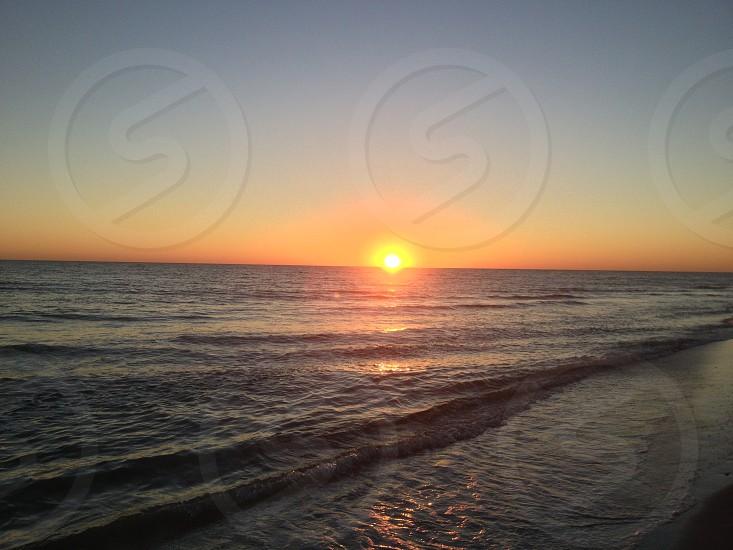 Sunset in florida photo