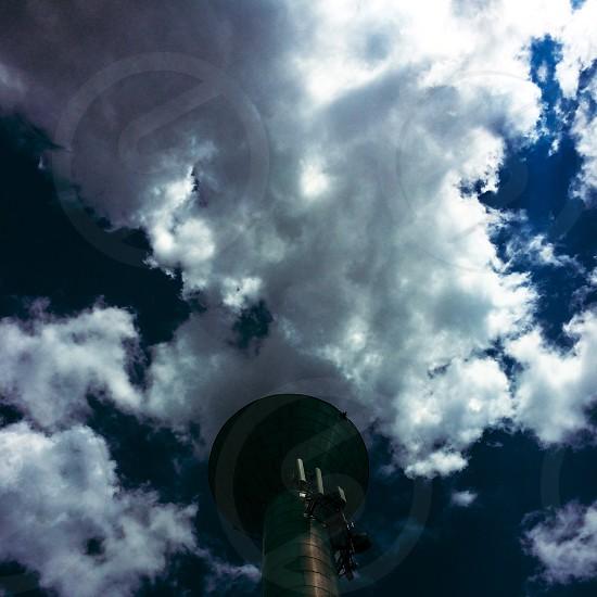 Cloud sky tower nature storm photo