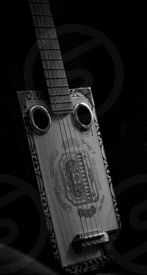 Cigar box guitar photo
