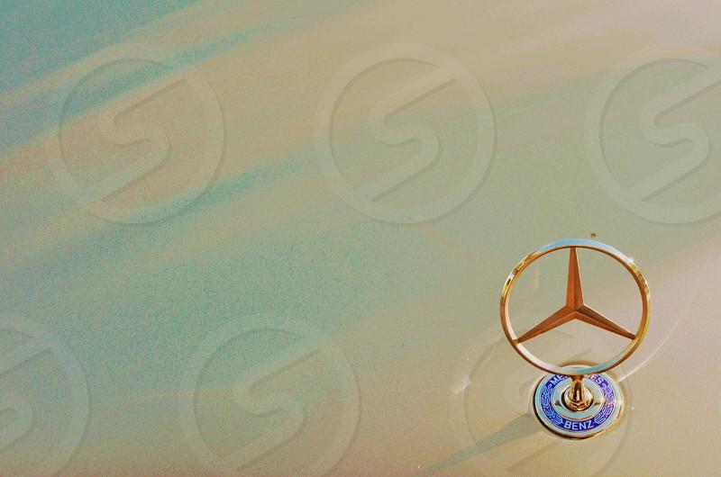 Photo I shot of a Mercedes-Benz hood ornament  photo