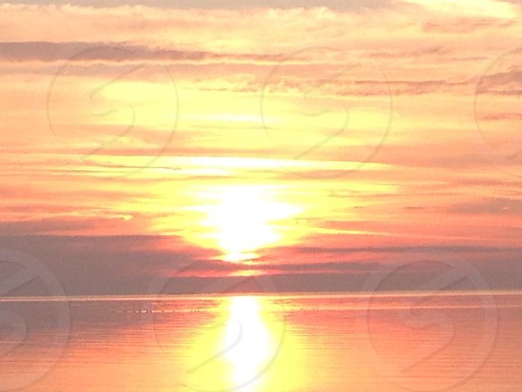 Sunrise Washington Island Wisconsin photo