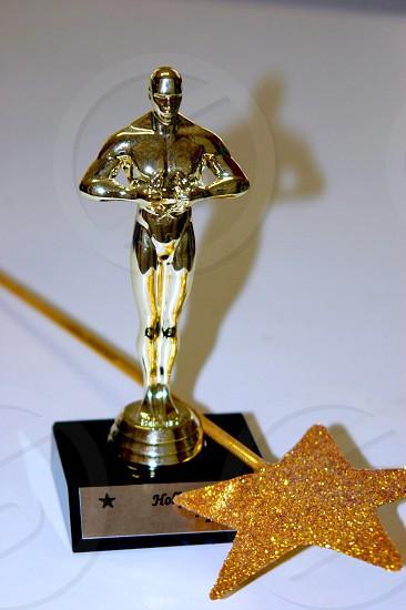 Award and wand photo