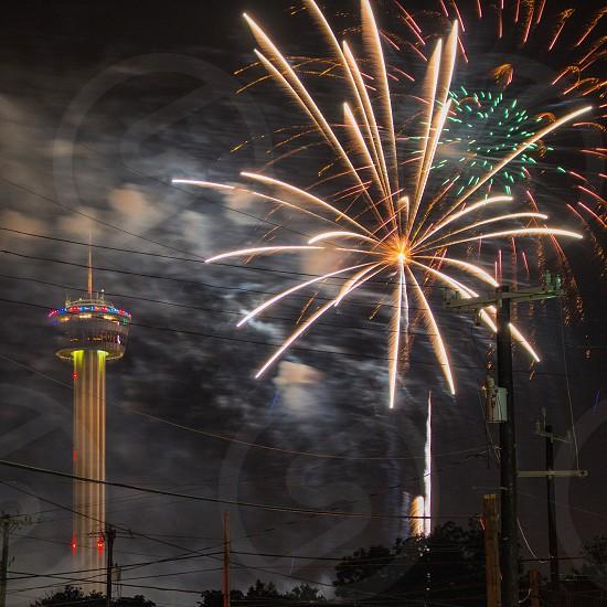 fireworks display photo