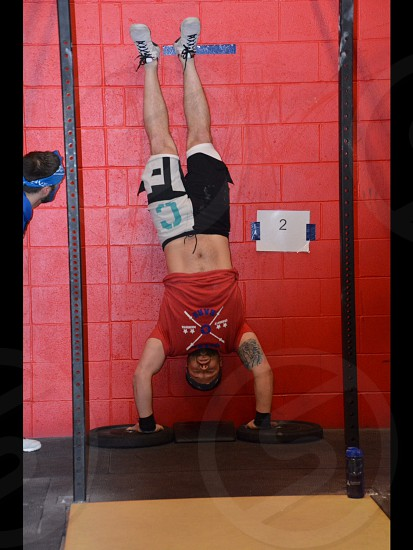 CrossFit workout frame photo