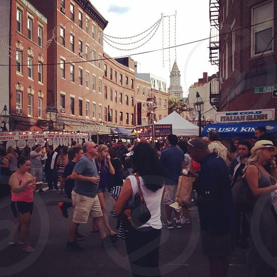 North End. Boston Massachusetts  photo