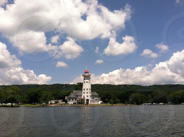Lake Guntersville light house photo