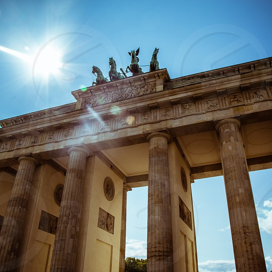 Brandenburg Gate Berlin Germany photo