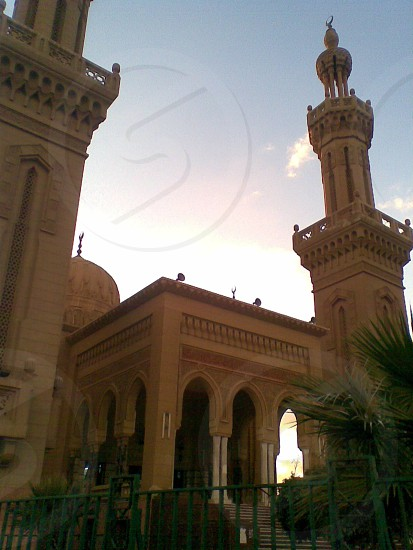 The peace Mosque in Port Said Egypt photo