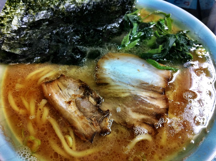 ramen; Chinese-style noodles photo