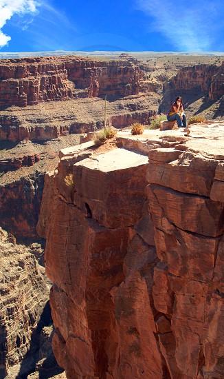 brown canyon view  photo