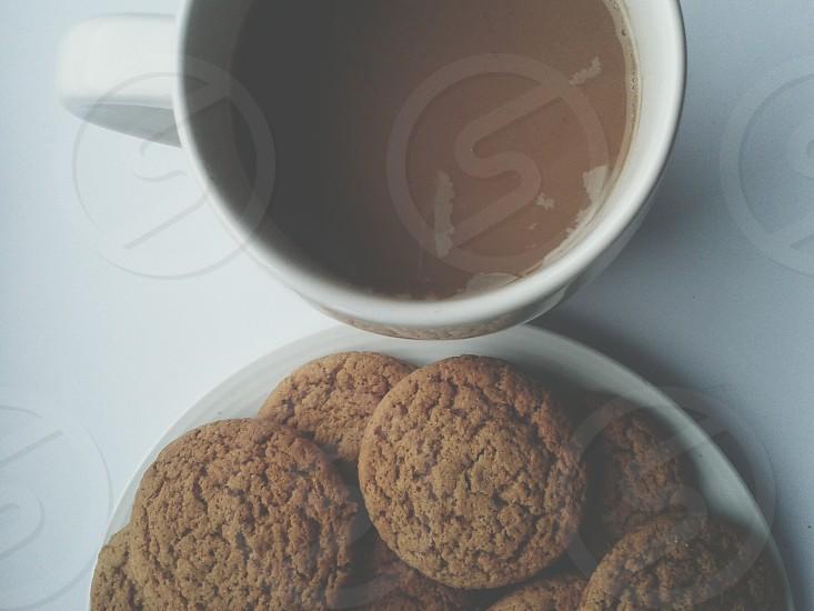 cookies coffee photo