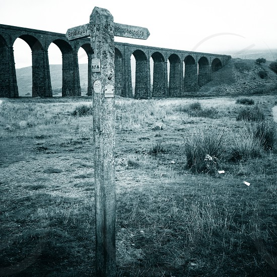 Viaduct bridge - Yorkshire 3 Peaks  photo