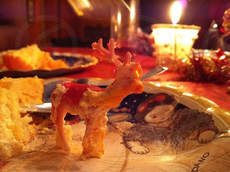 Christmas table photo