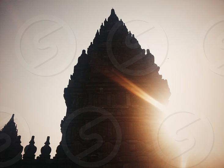 Prambanan Temple Yogyakarta Indonesia. photo