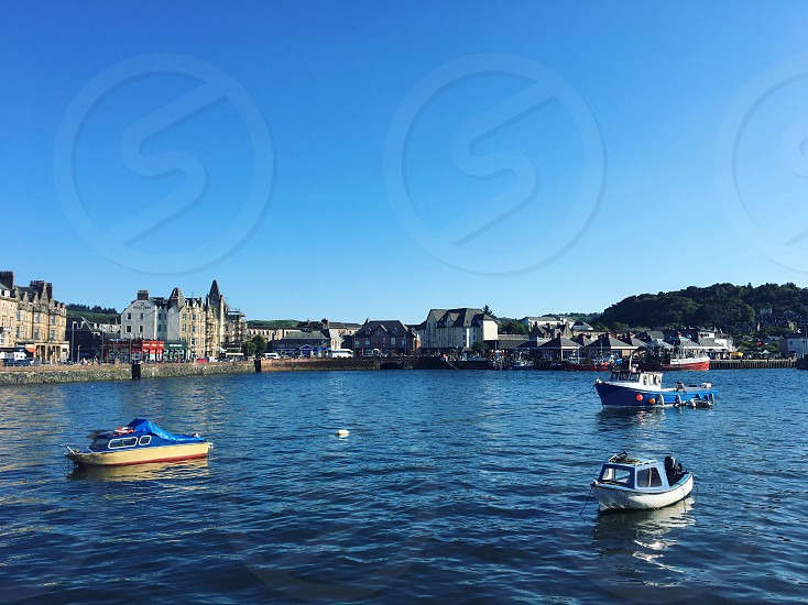 Scotland UK Oban Bay travel destination Europe United Kingdom  photo