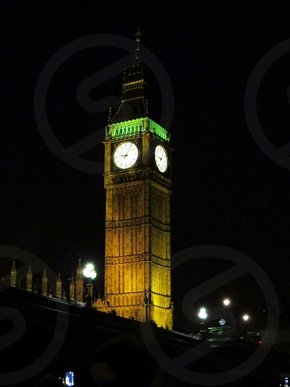 Big Ben at Night London photo