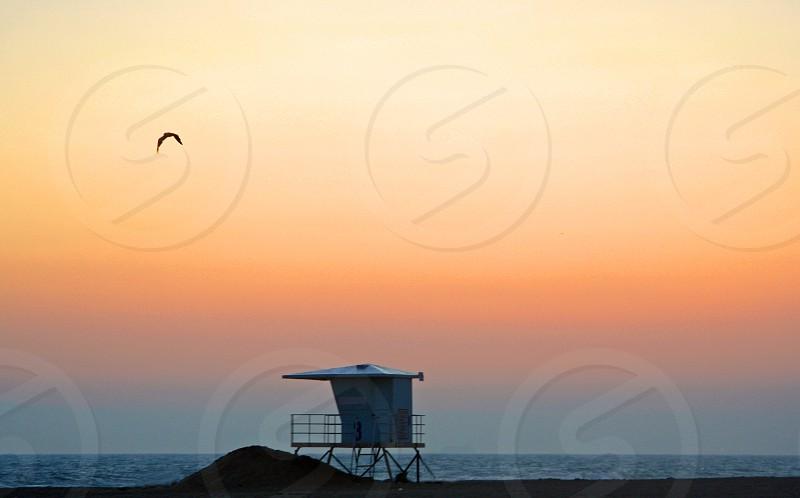 Twilight..California Beach photo