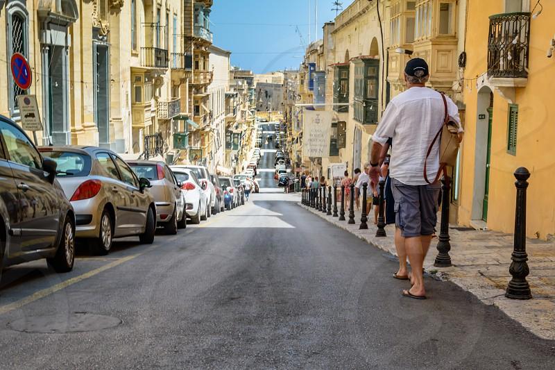 In the City - Valletta Malta photo