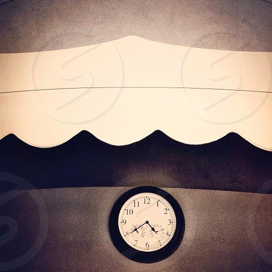 clock reading 4 40 photo