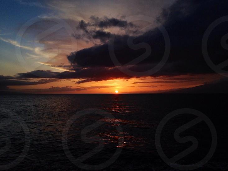 'Sunset' Ka'anapali Maui photo