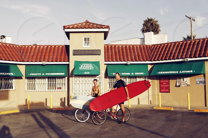 Venice Beach Los Angeles USA Surfers photo