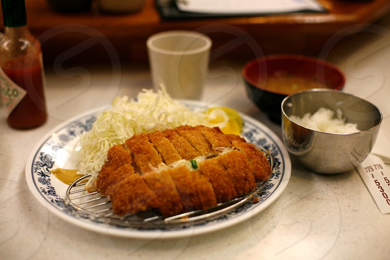 Japanese cutlet photo