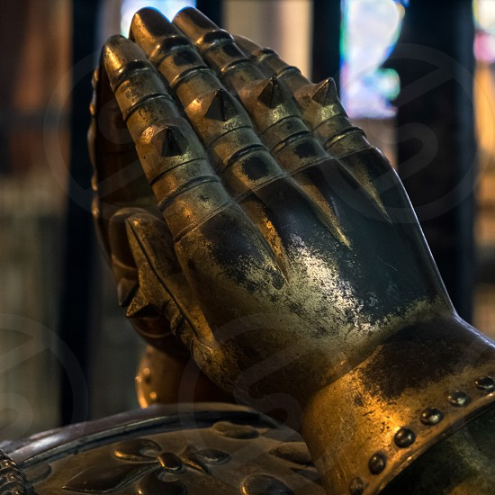 Edward Plantagenets (The Black Prince) tomb in Canterbury Cathedral photo