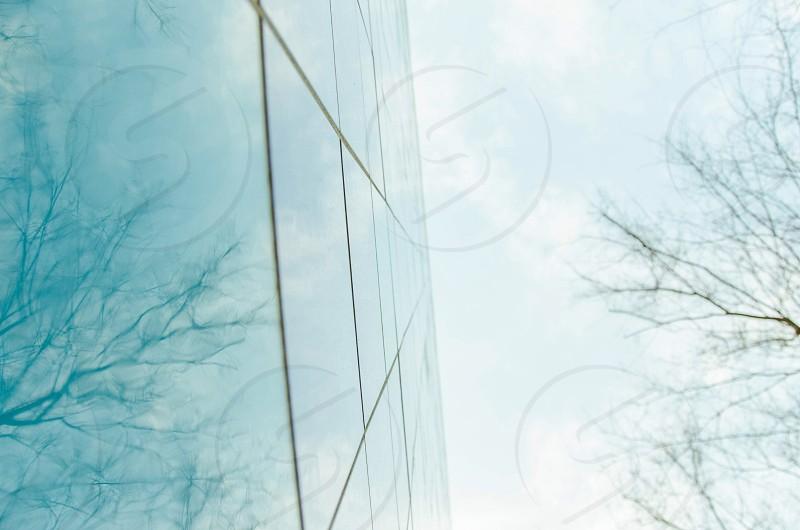 Let it blur blue blurred lines  photo