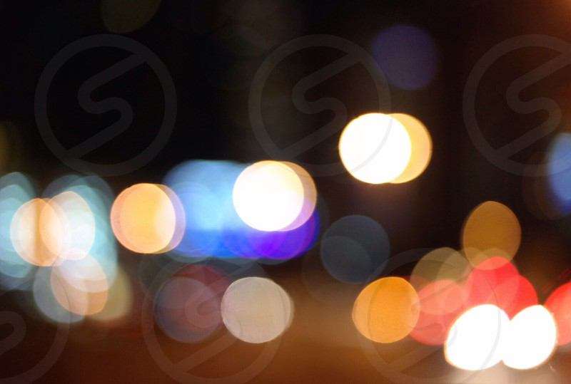 shallow focus photography of assorted-color lights photo