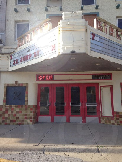 Movie theater  photo