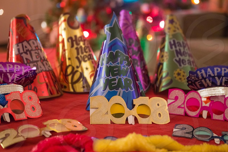 New Year's Eve party favors photo