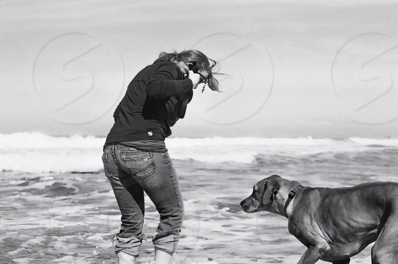 At the beach photo