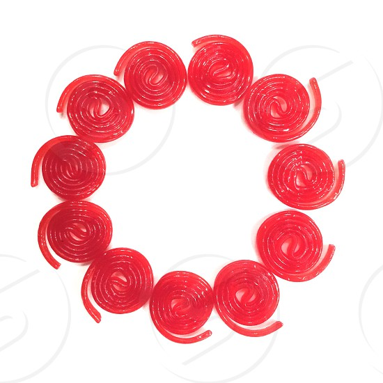 Red Candy Licorice  photo