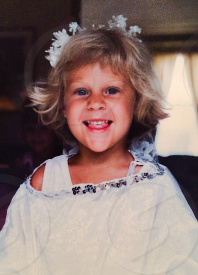 Fairy princess birthday girl  photo