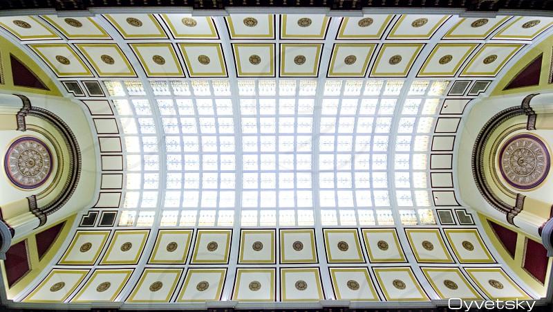 symmetric oyvetsky ceiling architectural design photo