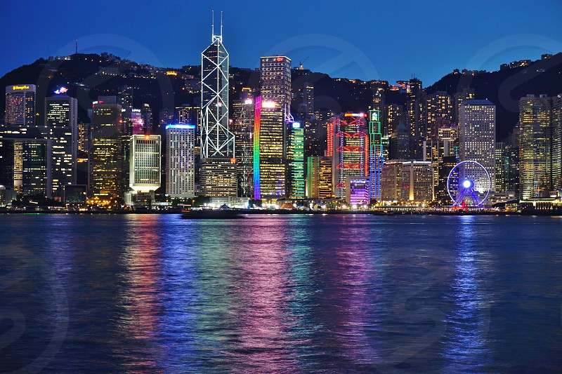 Bank of China Tower in Hong Kong photo